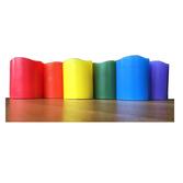 LED ljus i pridefärger 6st en i varje färg