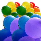 Pride färgade ballonger fyra i varje färg 24st